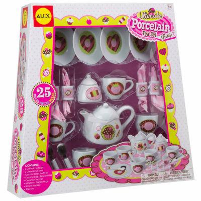 Alex Toys Ultimate Porcelain Tea Set Party Play Food