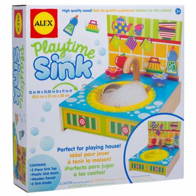 Alex Toys Playtime Kitchen Sink 6-pc. Play Kitchen