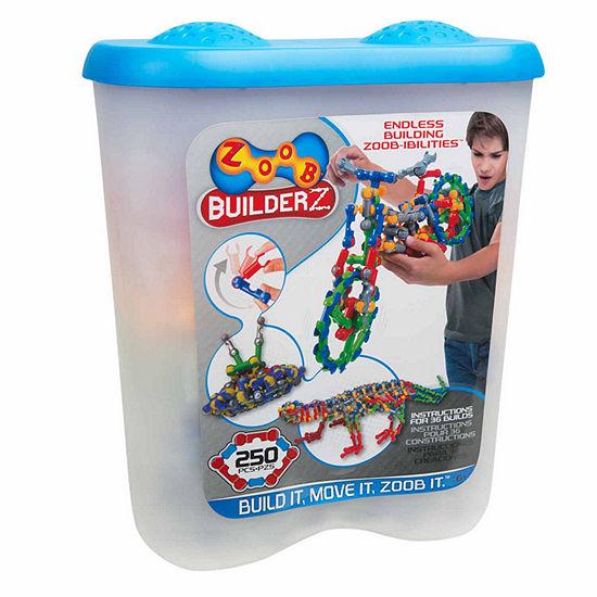 Zoob 250 Piece Builderz Interactive Toy Unisex