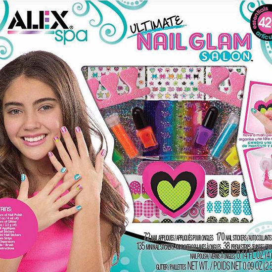 Alex Toys Spa Ultimate Nail Glam Salon Kit Beauty Toy