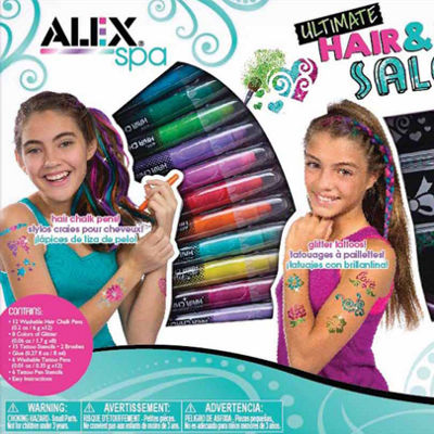 Alex Toys Ultimate Hair And Body Salon Beauty Toy