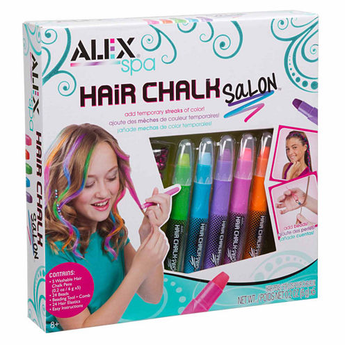 Alex Toys Spa Hair Chalk Salon Beauty Toy