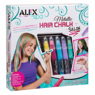 Alex Toys Spa Metallic Hair Chalk Salon Beauty Toy