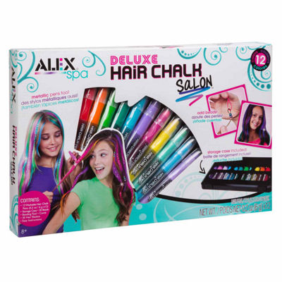 Alex Toys Spa Deluxe Hair Chalk Salon Beauty Toy