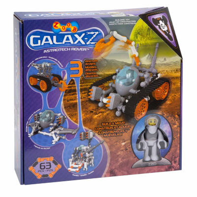 Zoob Galax-Z Astrotech Rover Interactive Toy - Unisex