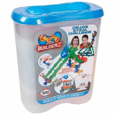 Zoob Builderz Deluxe S.T.E.M. Challenge Interactive Toy - Unisex