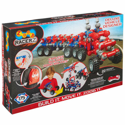 Zoob Racerz Deluxe Vehicle Designer Interactive Toy - Unisex