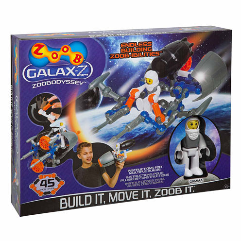 Zoob Galax-Z Zoobodyssey 44-pc. Interactive Toy - Unisex