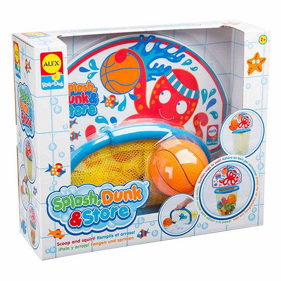 Alex Toys Rub A Dub Splash Dunk And Store Bath Toy