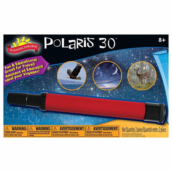 Scientific Explorer Polaris Telescope 2-pc. Discovery Toy