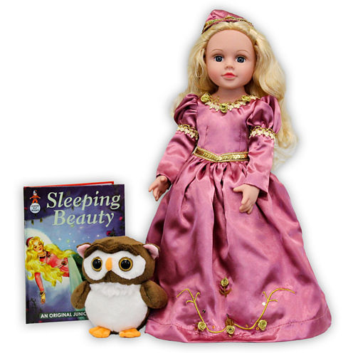 Dazzleworks Deluxe Once Upon A Time Storybook Doll