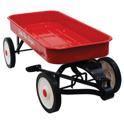 "Grand Forward Little Box 34"" Metal Wagon"