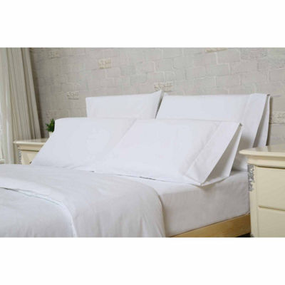 12-pc. Luxury Microfiber Flat Sheet