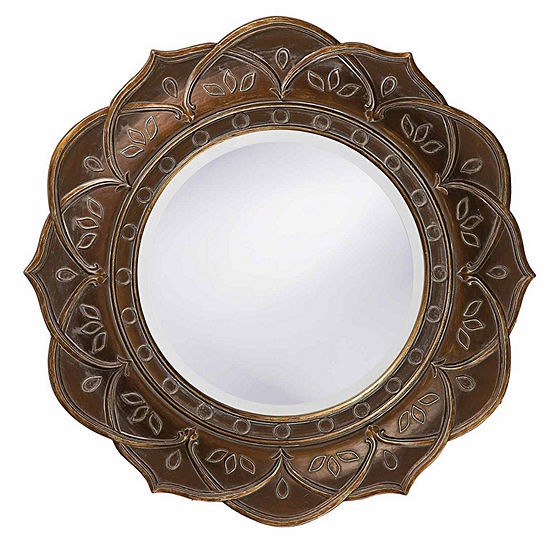 Erica Flower Wall Mirror