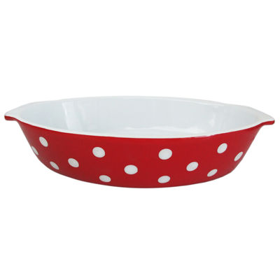 American Atelier American Atelier Dot Oval Baker Baking Dish