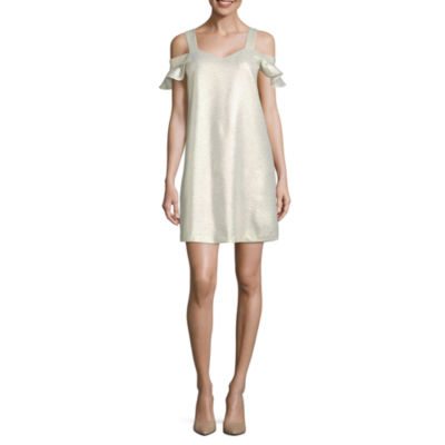 Worthington Sleeveless Shift Dress
