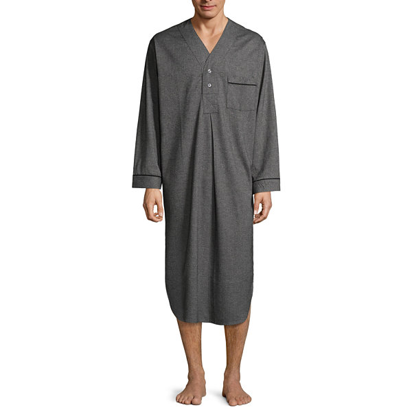 Stafford Flannel Nightshirt - Men's
