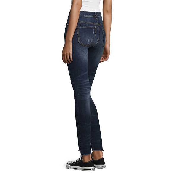 Almost Famous Skinny Fit Star Jeans-Juniors