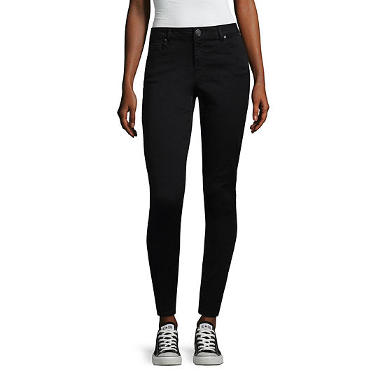 Almost Famous Womens Mid Rise Skinny Jeggings - Juniors