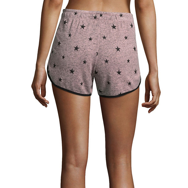 Flirtitude Knit Soft Shorts - Juniors