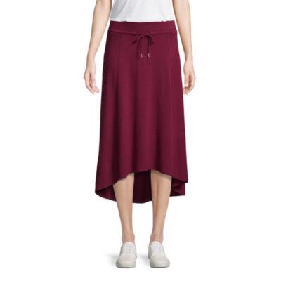 St. John's Bay Active A-Line Skirt