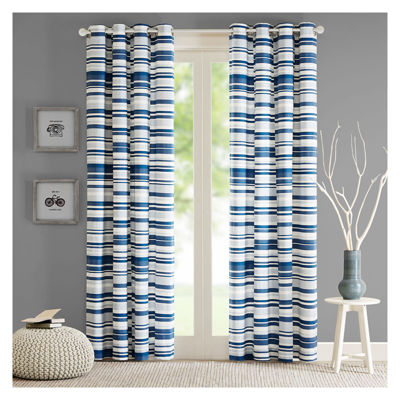 Strider Grommet-Top Curtain Panel