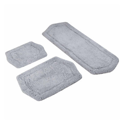 3 Piece Paradise Memory Foam Bath Rug Set