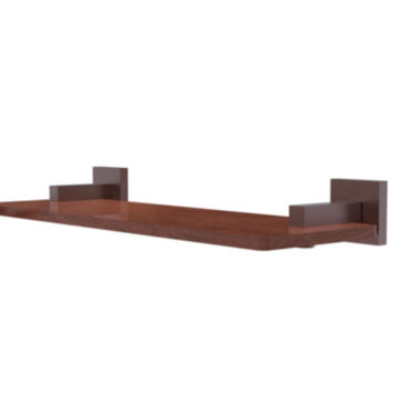 Allied Brass Montero Collection 16 IN Solid Ipe Ironwood Shelf
