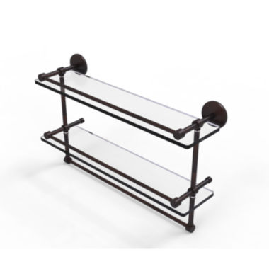 Allied Brass Washington Square Collection 36 InchDouble Towel Bar