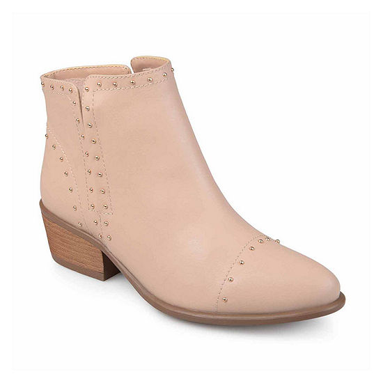 Journee Collection Womens Gypsy Booties Block Heel