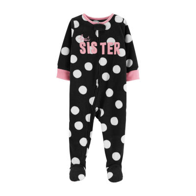 Carter's 1-Pc. Little Sister Fleece Pajama - Toddler Girl