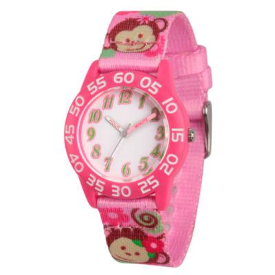 Red Balloon Girls Pink Strap Watch-Wrb000067