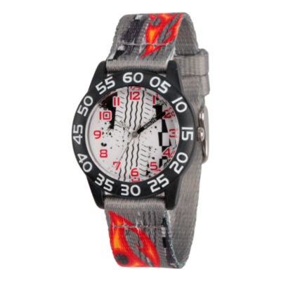 Red Balloon Red Balloon Boys Gray Strap Watch-Wrb000074