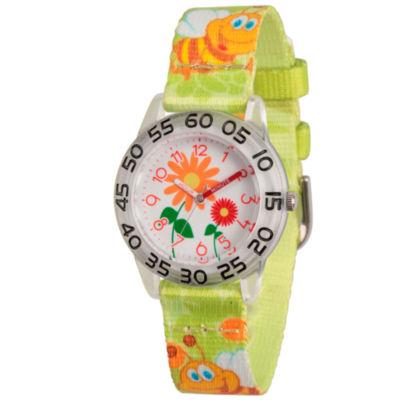 Red Balloon Boys Green Strap Watch-Wrb000079