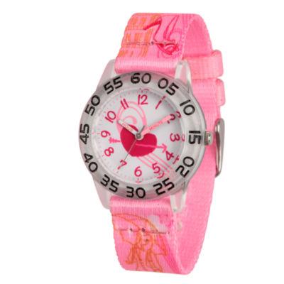 Red Balloon Girls Pink Strap Watch-Wrb000080