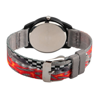 Red Balloon Boys Gray Strap Watch-Wrb000127
