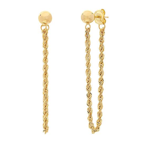Made in Italy 14K Gold Drop Earrings