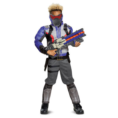 Overwatch Soldier 76 Classic Muscle Teen Costume X-Large