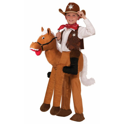 Child Ride-A-Horse Costume- One Size Fits Most