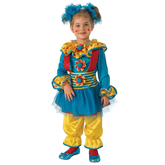 Girls Dotty The Clown Costume