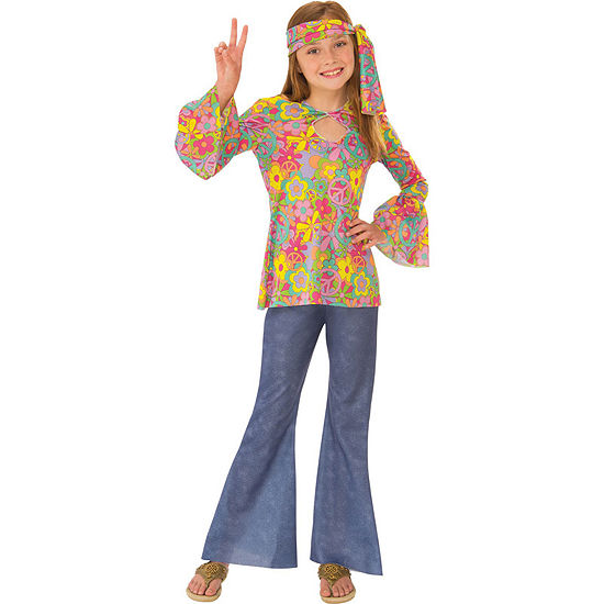 Flower Child Girls Costume