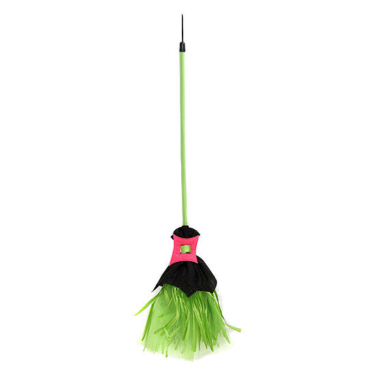 Girls Spiderina Broom Girls Costume