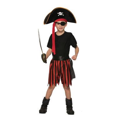 Pirate Boy Dress Up Kit- One Size Fits Most