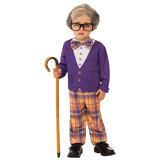 Boys Little Old Man Costume