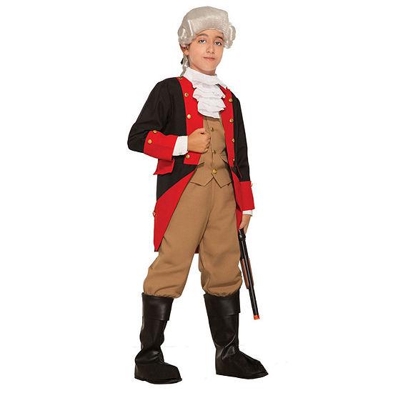 Boys British Red Coat Costume