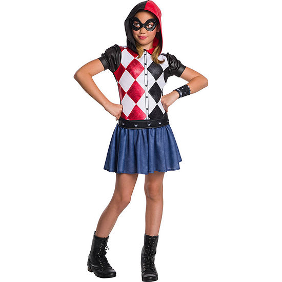 Dc Super Hero Girls Harley Quinn Hoodie Dress