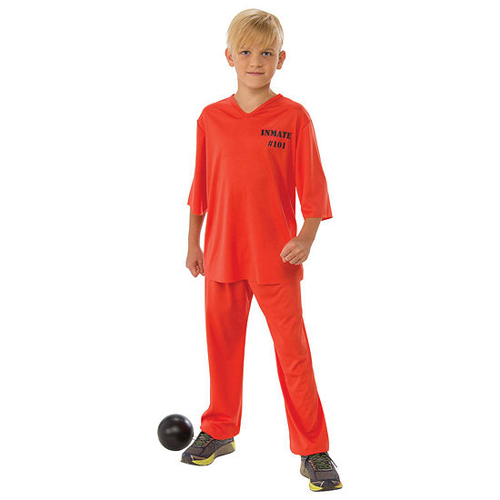 Boys Inmate 101 Costume