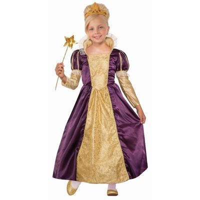Girls Princess Indigo Costume