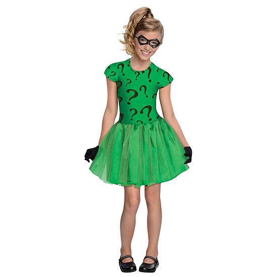 Girls Riddler Tutu Dress Costume