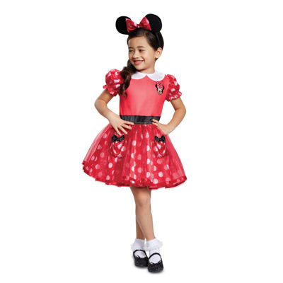 Mickey Mouse  Red Minnie Mouse Toddler Costume